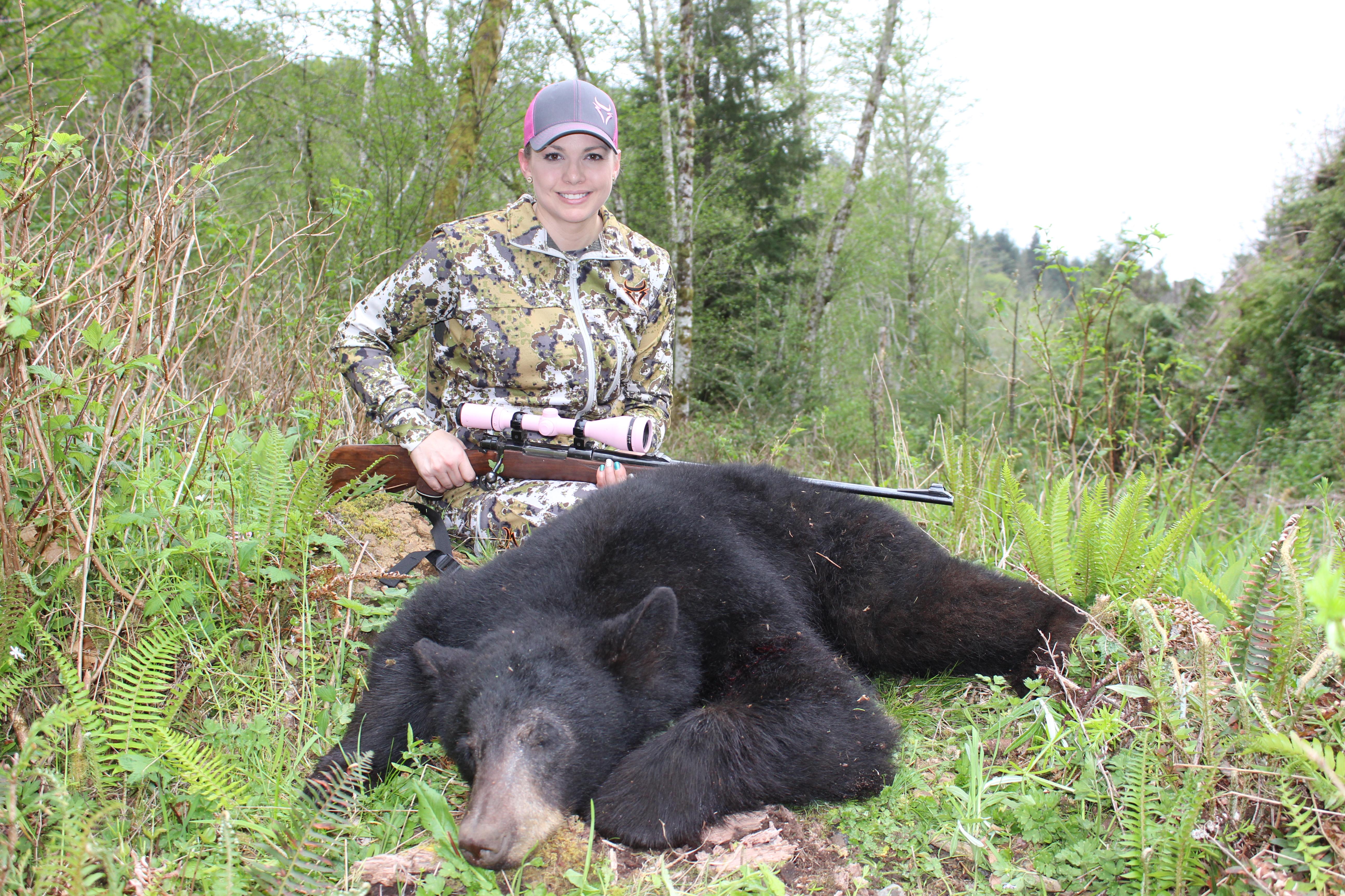 Black bear hunting video #9